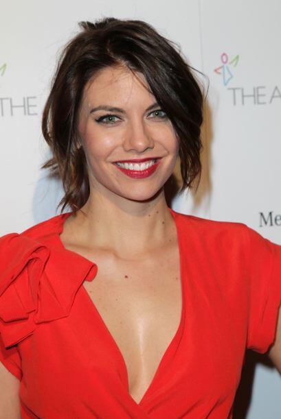 65. LAUREN COHAN La actriz de 32 años interpreta a Maggie en la s...