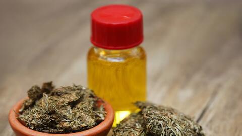 Marihuana medicinal en aceite