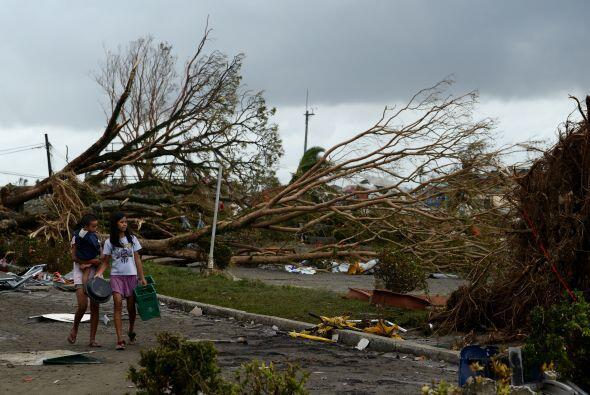 El servicio meteorológico de Filipinas, PAGASA, informó hoy de que se es...