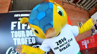Fuleco, mascota oficial del Mundial de Fútbol