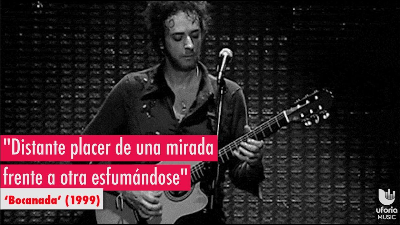 7 frases inolvidables de canciones de Gustavo Cerati