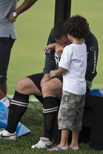 Además de Alex, Ronaldo es padre de Ronald, de 10 años de...