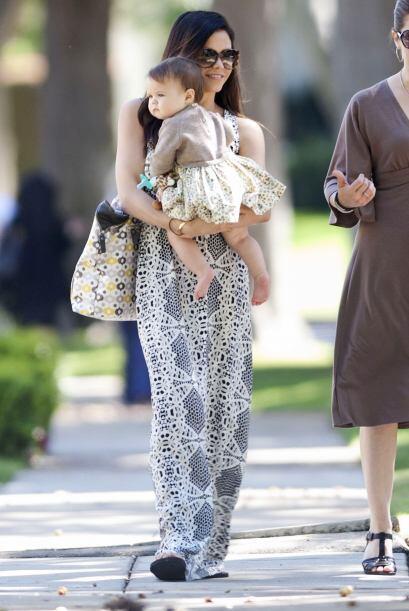 Fotos encontadoras de Jenna Dewan y su hija, Everly.  Mira aquí los vide...