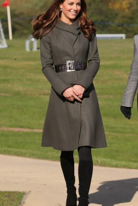 ¿El secreto para que se le vea a Kate Middleton una cintura de avispa y...