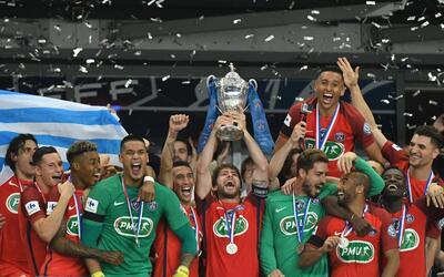 Paris Saint Germain levanta el trofeo de la Copa de Francia