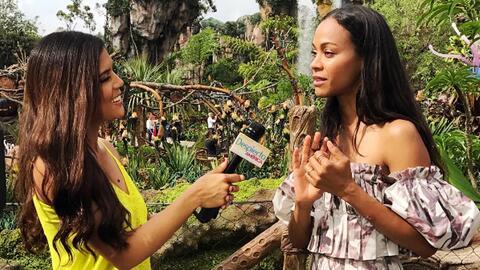 Francisca Lachapel se emocionó mucho al entrevistar a su compatriota Zoe...