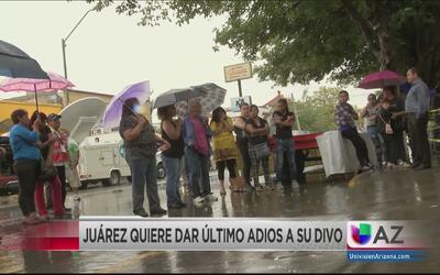 Juarenses quieren dar el último adiós a Juan Gabriel