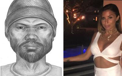 Boceto del individuo que el NYPD quiere entrevistar para saber si vio al...