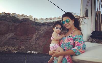 Ana Patricia vacaciones