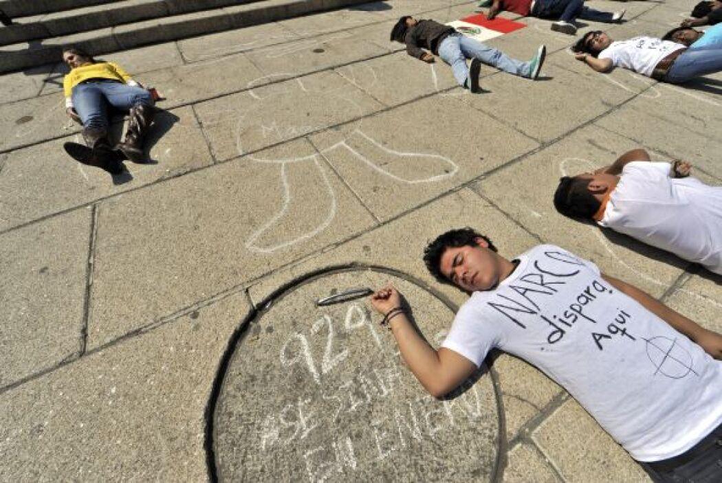 Todos se sienten inseguros en Ciudad  Juárez. Diversas protestas han rea...
