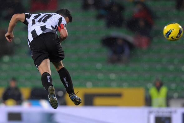 Con ese resultado parcial él Udinese no podría confiarse.
