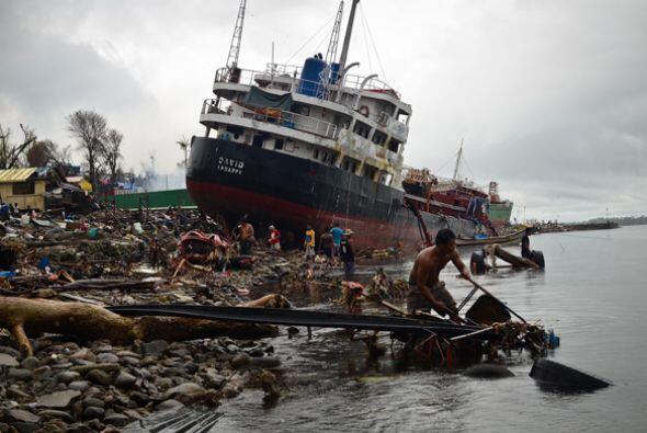 Tifón en Filipinas Más de cinco mil muertos fue la estela...