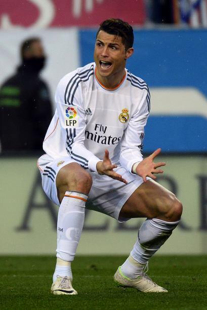 Y con el empate, también llegaron los reclamos de Cristiano Ronaldo.