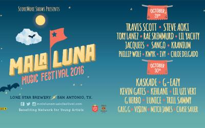 Mala Luna - October 29th & 30th | Lone Star Brewery