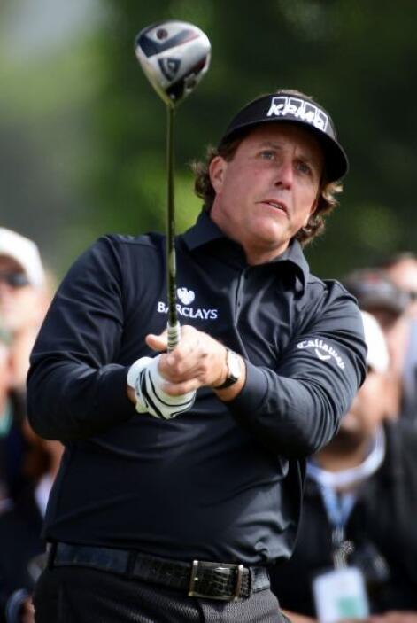 Lugar 7: Ocupado por uno de los mejores golfistas, el estadounidense Phi...