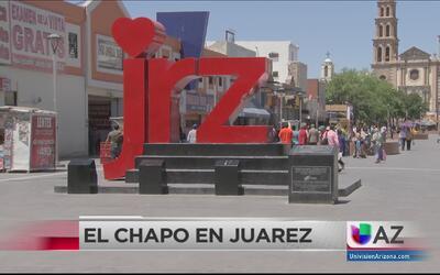 """Reacciones ante la llegada de """"El Chapo"""" a Ciudad Juárez"""