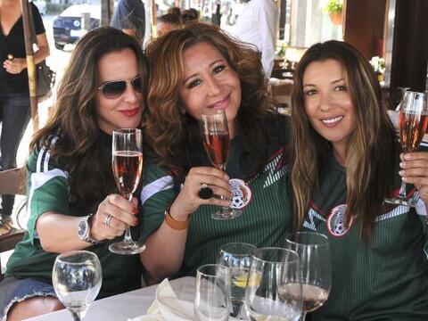 Trío de bellezas: Kate del Castillo, Jessica Maldonado y una amig...