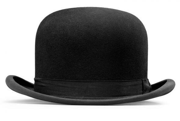 Sombrero bowler. Los sombreros muestran personalidad ¡y agregan in...