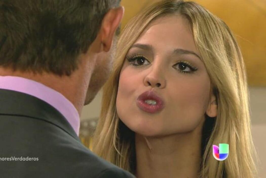 """La última telenovela en la que la vimos fue """"Amores Verdaderos""""."""