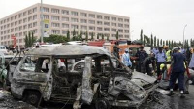 La mayoría de los atentados fueron perpetrados con coches bomba, varios...