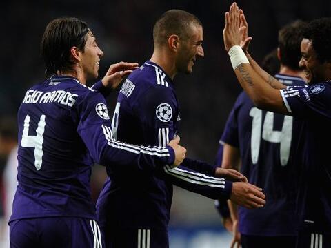 Real Madrid goleó al Ajax 4 a 0 en la quinta fecha de la 'Champio...