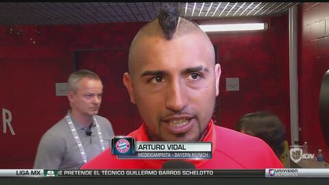 """Arturo Vidal: """"Va creciendo mucho el fútbol en Estados Unidos"""""""