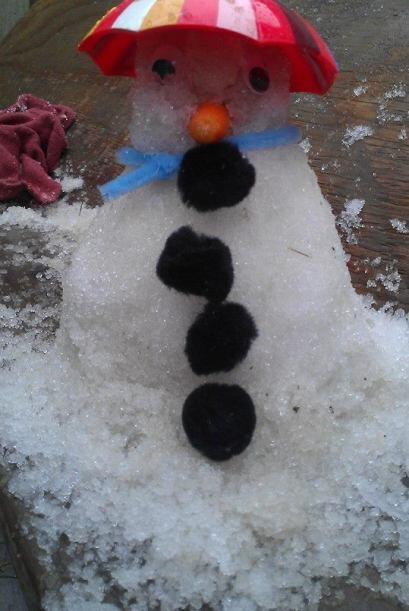 Ok, tal vez muñecos de hielo en varias partes ¡pero se ven genial! Sígan...