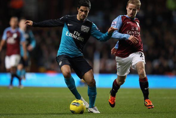 Los 'Gunners' llegaban a este duelo tras caer con el Manchester City.