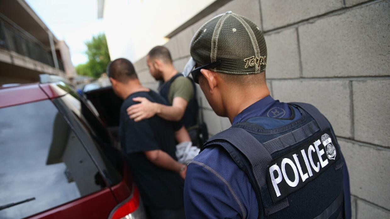 Redada del servicio de inmigración