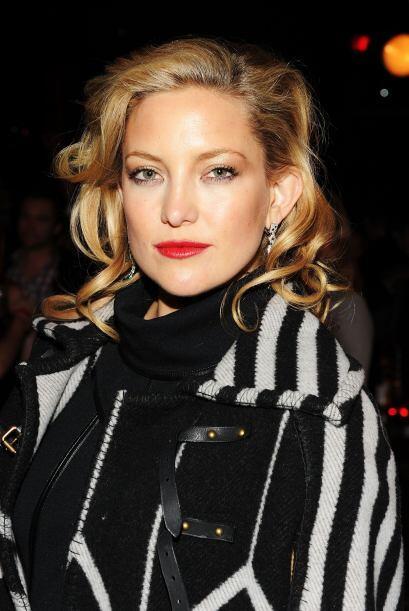 Para Kate unos labios rojos son sus aliados perfectos para lucir m&aacut...