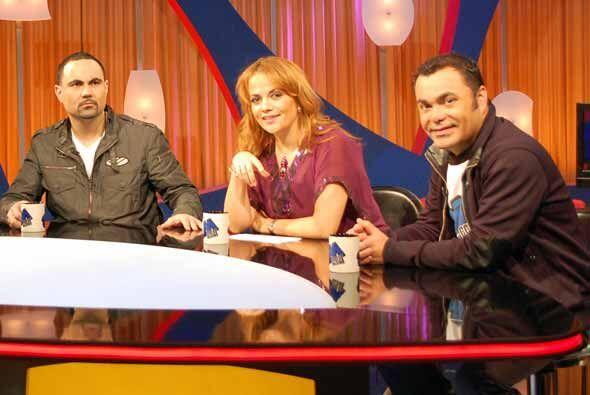Y por supuesto la mesa de Picotenado, con Enrique, Gina y Oscar.