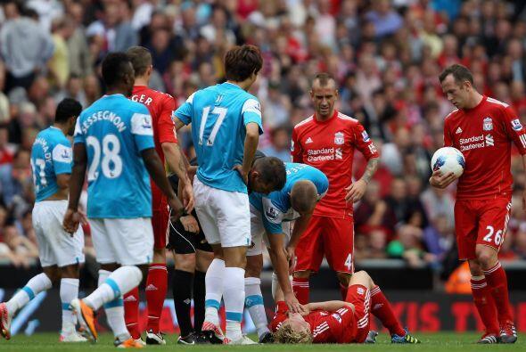 Liverpool y Sunderland empataron 1 a 1 y repartieron puntos en el inicio...