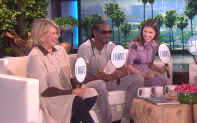 Ellen was joined by the diverse trio of stars for a surprising game of &...