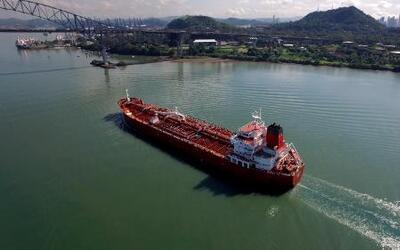 El canal de Panamá en imágenes aéreas de dron