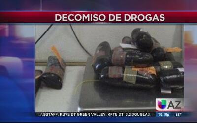 Decomiso de peligrosas drogas