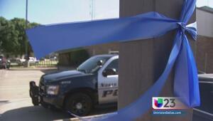 Honran en el Metroplex a policia asesinado