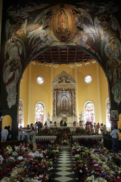 Iglesia de Nuestra Señora de Guadalupe en San Salvador, El Salvador.