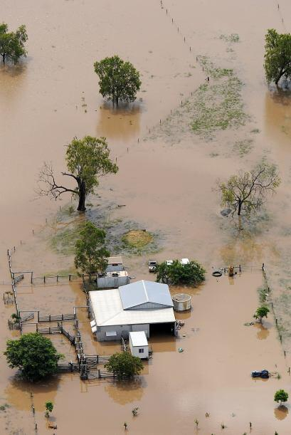 Los niveles de agua de los ríos superan los récords por lo...