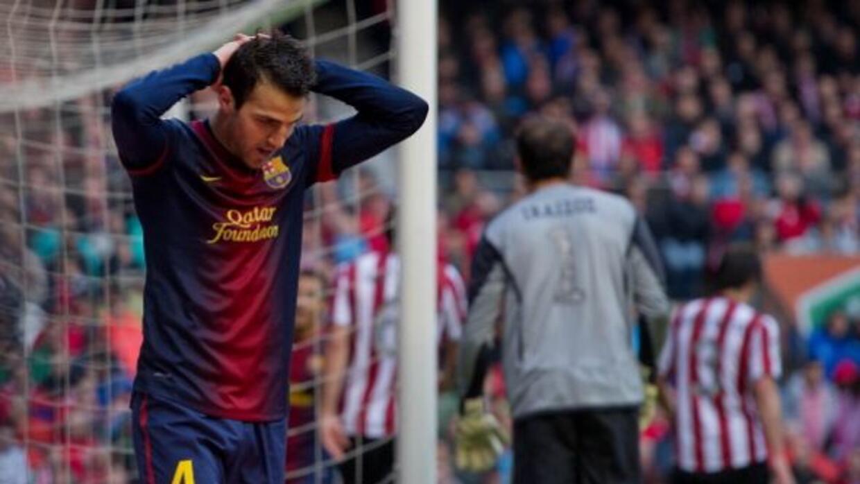 Un gol de último minuto del Athletic aplazó la fiesta del Barcelona.