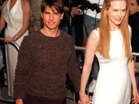Tom Cruise y Nicole Kidman era una de las parejas más estables en...