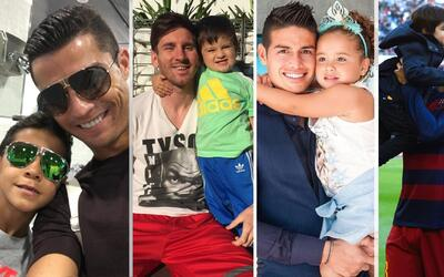 Estos guapos futbolistas demuestran cada día que no sólo s...