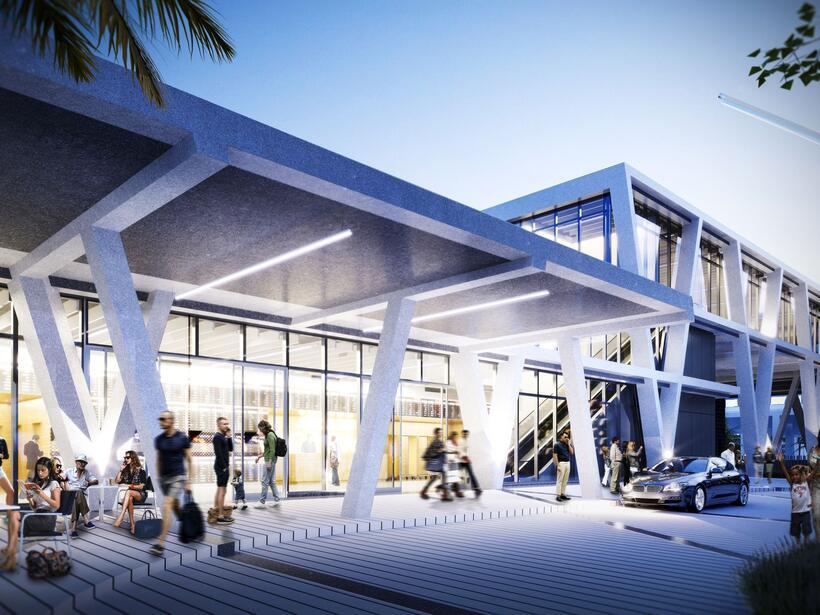 El sistema de trenes conectará a Miami con Fort Lauderdale, Palm Beach y...