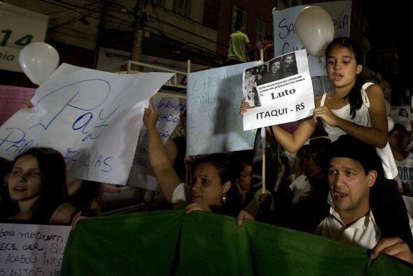 El homenaje comenzó con una misa en plaza Saldanha Marinho y, horas desp...