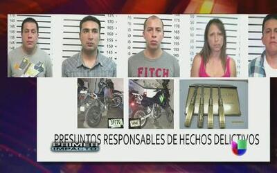 Banda de ladrones colombianos fue desmantelada en México