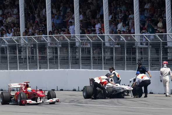 El objetivo para Ferrari en Montreal era salir de la difícil situación e...