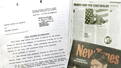 El Miami New Times publicó este jueves el artículo 'Rubio y el narco...
