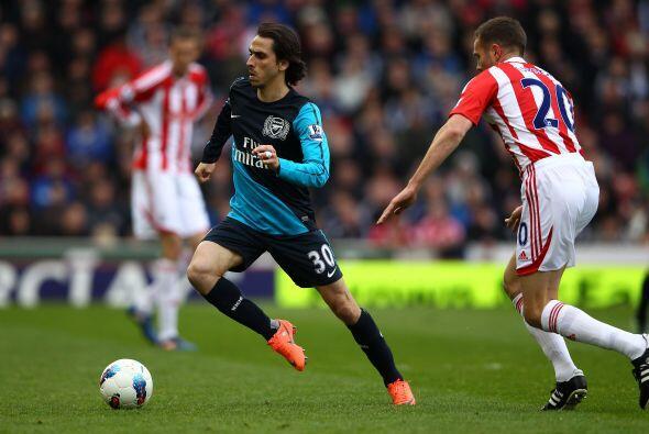 Pero el Arsenal se recuperó y fue en busca del empate.
