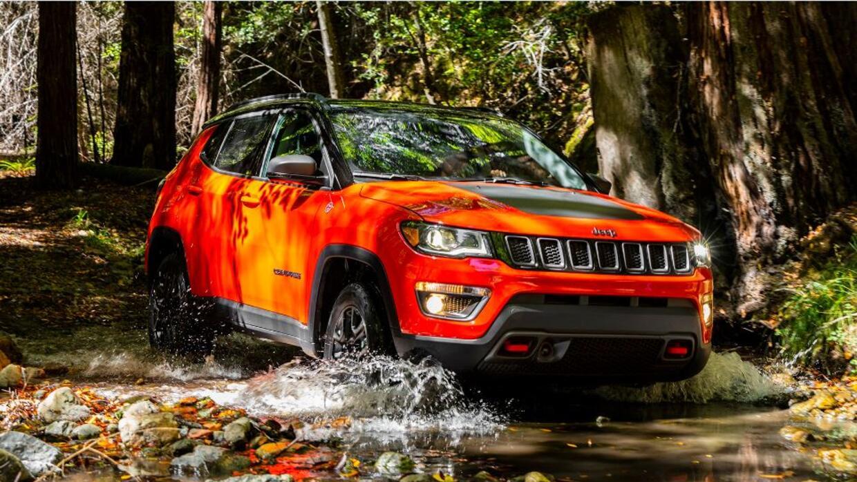 La Jeep Compass Trailhawk es la utilitaria compacta con mejor capacidad...