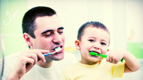 Los papás cada vez participan más en la vida de sus hijos