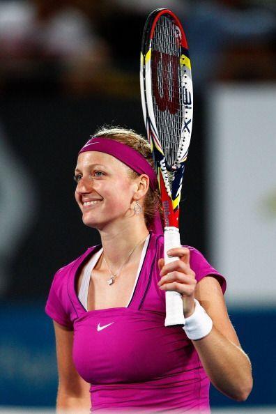Petra Kvitova venció a Daniela Hantuchova por lo que se ver&aacut...